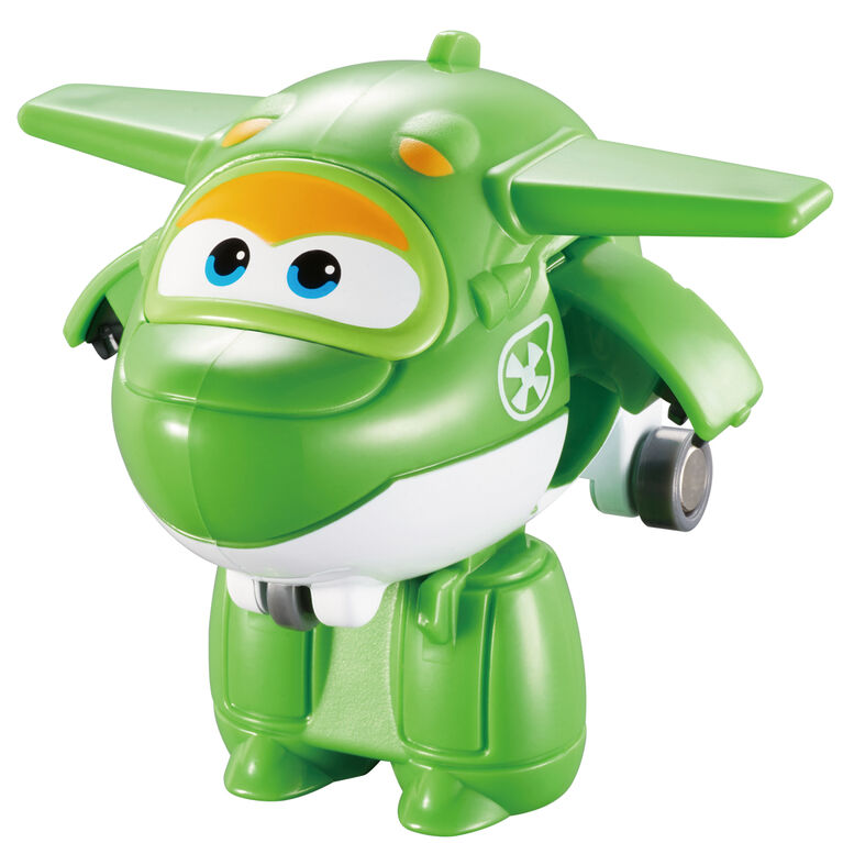 Super Wings Transform-a-Bots 4 Pack - Jett/Mira/Paul/Grand Albert