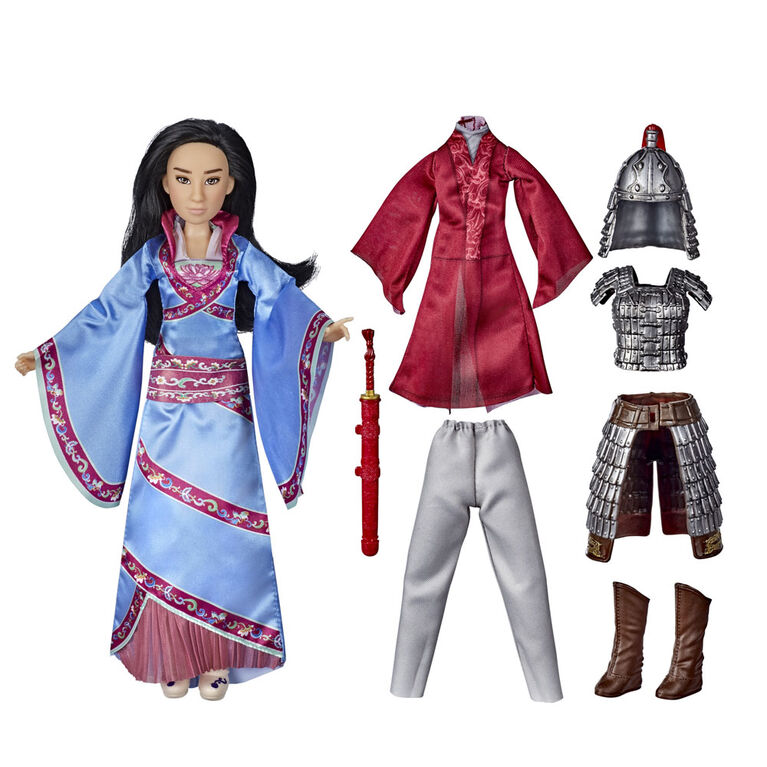 Disney Mulan Two Reflections Set, Fashion Doll