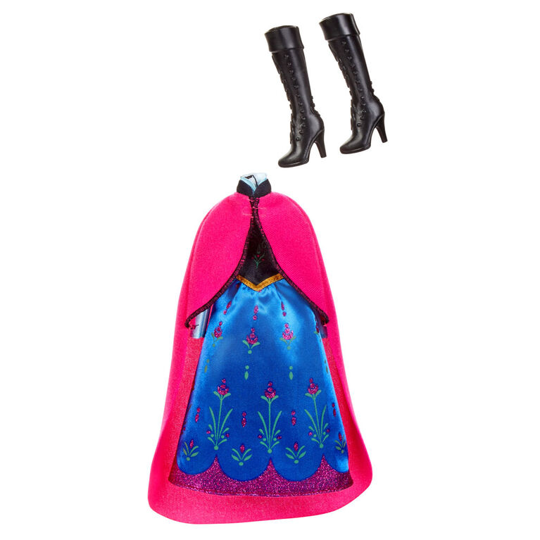 Disney Frozen Anna's Style Set Fashion Doll With 3 Dresses