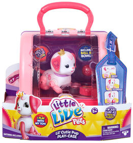 Little Live Pets - Lil' Cutie Pup Play Case - Ruby
