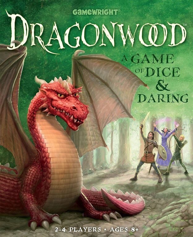 Gamewright - Dragonwood Game