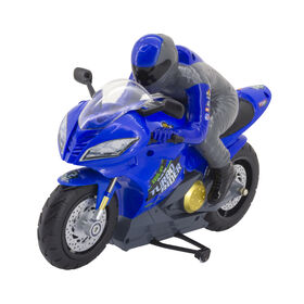 Fast Lane RC - RC Turbo Rider - Blue - 49MHz