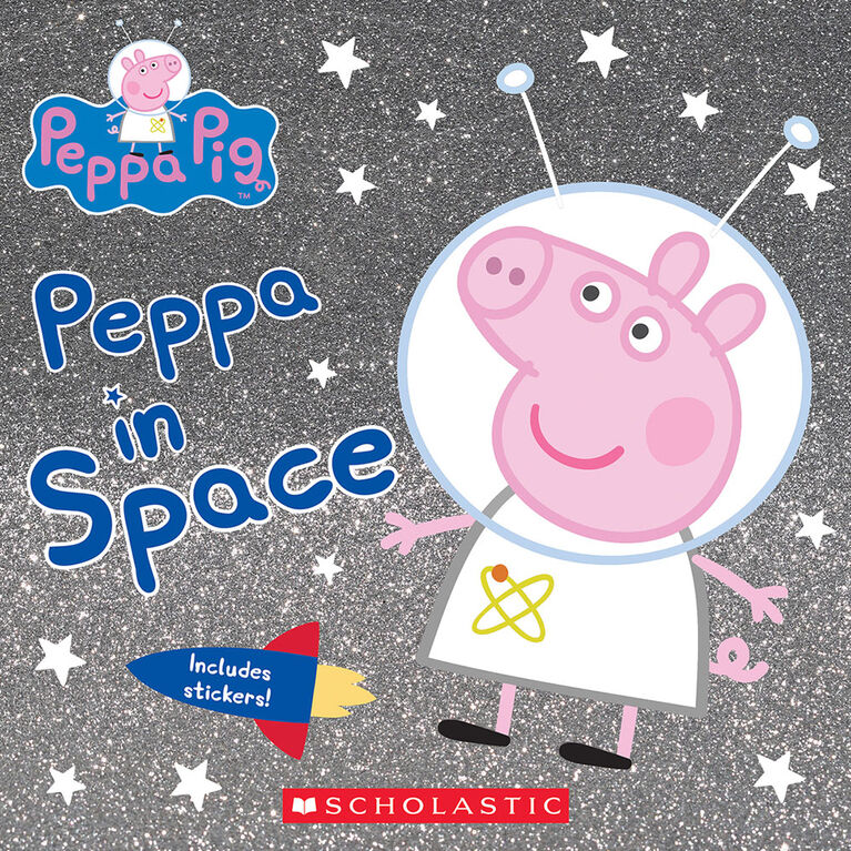 Scholastic - Peppa Pig: Peppa in Space - Édition anglaise