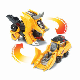 VTech Switch and Go Triceratops Bulldozer - French Edition