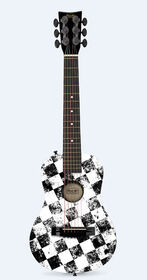First Act Checkered Acoustic Guitar