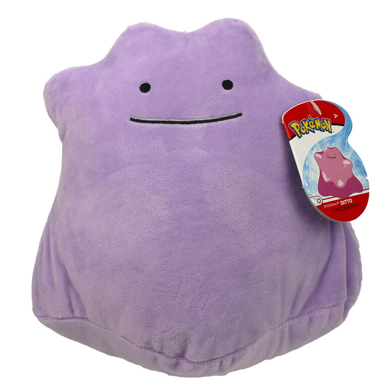 Pokémon 8 Inch Plush - Ditto - English Edition