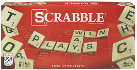Hasbro Gaming - Jeu Scrabble - Édition anglaise