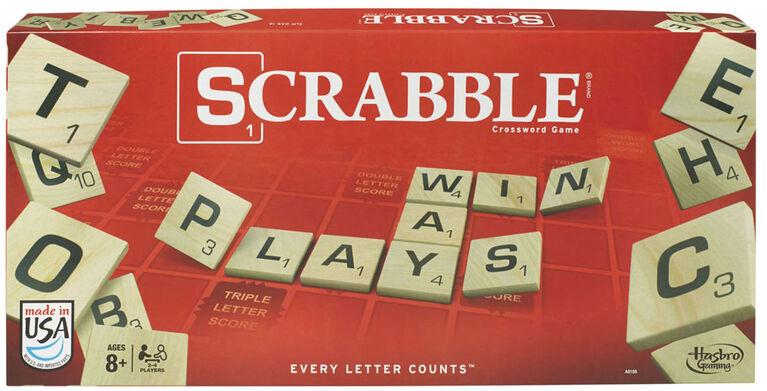 Hasbro Gaming - Jeu Scrabble - Édition anglaise