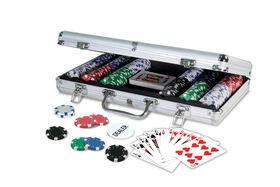 300 115G Poker Chips In Aluminum Case