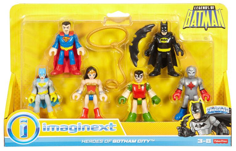 Fisher-Price - Imaginext - Legends Of Batman - Coffret Héros