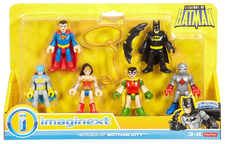 Fisher-Price Imaginext DC Super Friends Legends of Batman Heroes of Gotham City