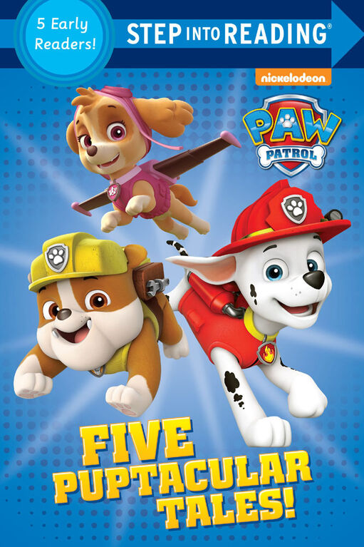 Five Puptacular Tales! (PAW Patrol) - English Edition
