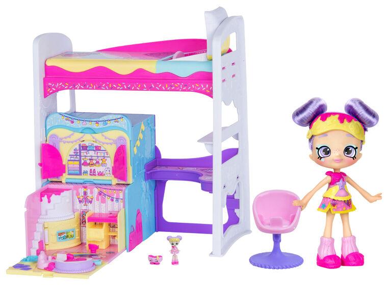 Shopkins Lil' Secrets Rainbow Kate's Bedroom Hideaway