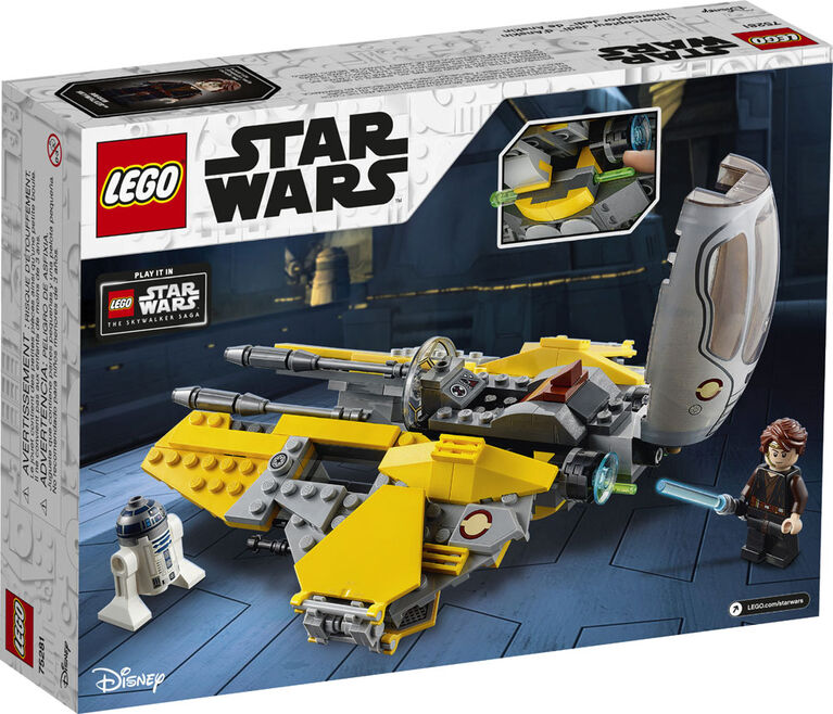LEGO Star Wars L'intercepteur Jedi d'Anakin 75281