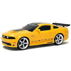 New Bright - 1:24 Scale Radio Control Sports Car - Ford Mustang 27MHz
