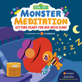 Sesame Street: Monster Meditation: Getting Ready for Bed with Elmo - English Edition