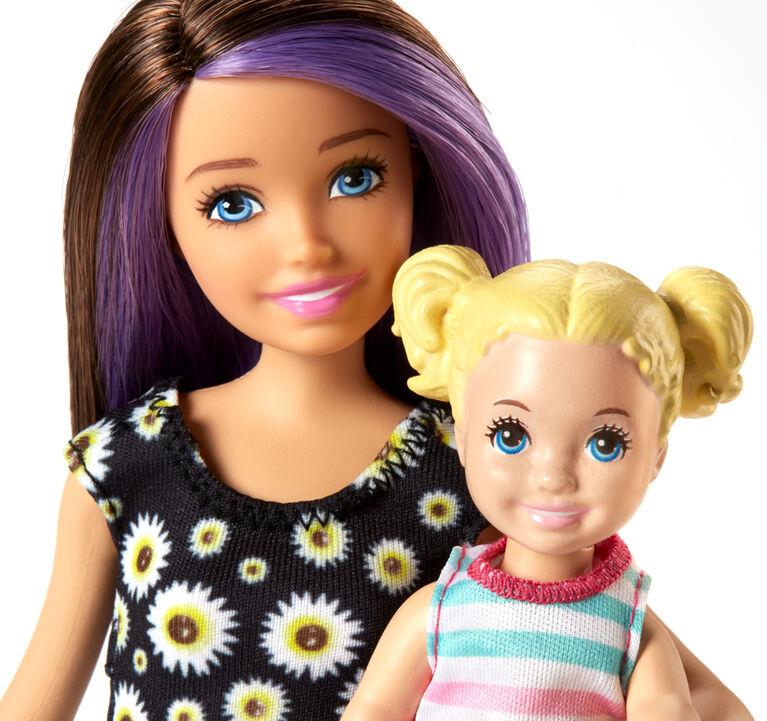 Barbie Skipper Babysitters Inc. Bathroom Playset