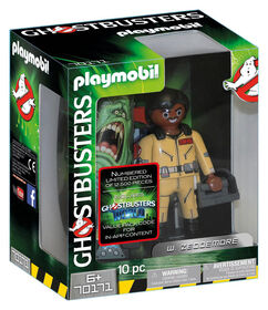 Playmobil -  Ghostbusters Collection Figure W Zeddemore