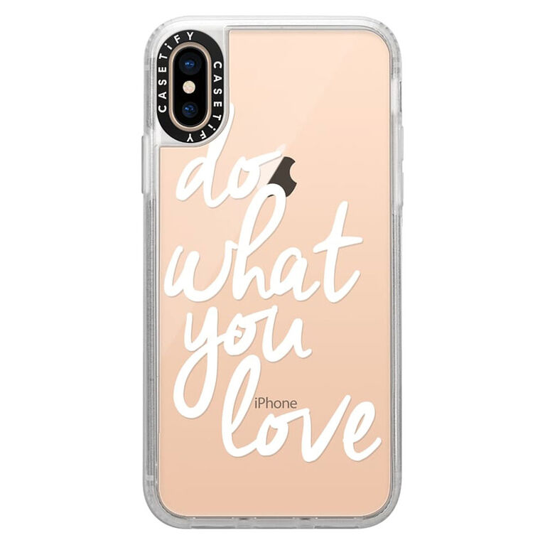 Casetify Grip Case iPhone XS/X Do What You Love