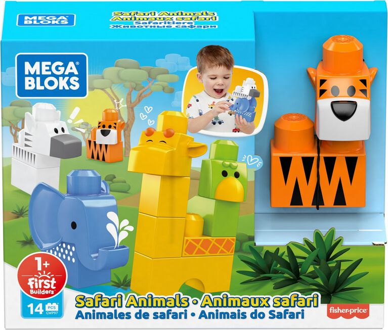 Mega Bloks Safari Animals