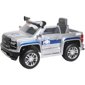 Rollplay 6V Chevy Silverado Police Truck