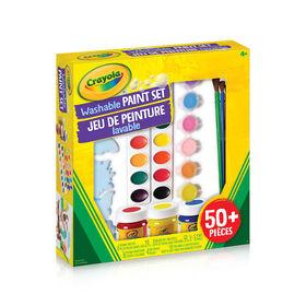 Jeu de peinture lavable Crayola