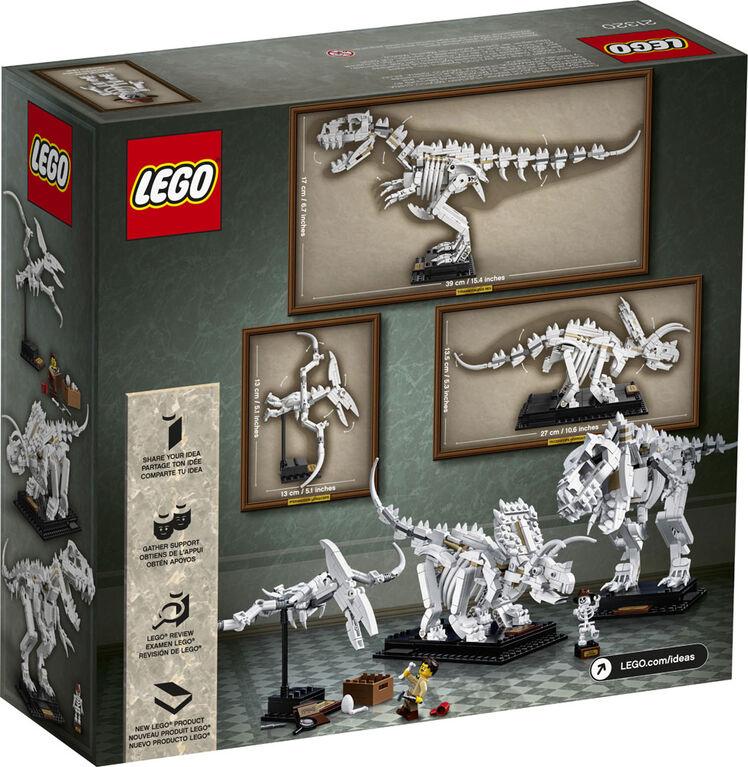 LEGO Ideas Dinosaur Fossils 21320