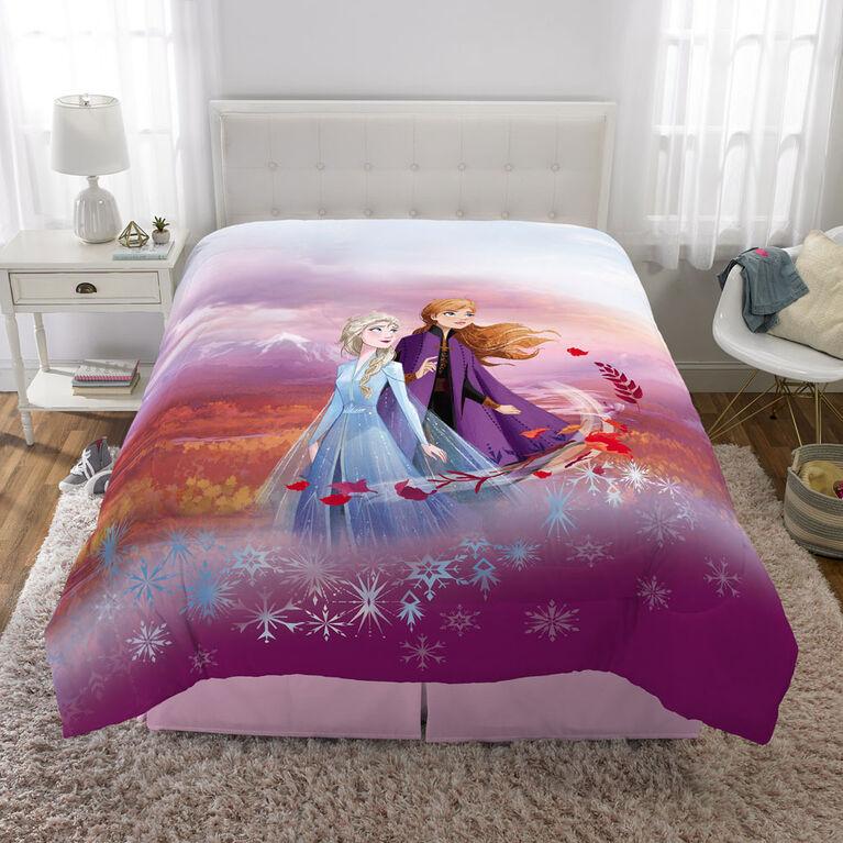 """Disney Frozen II """"Spirit of Nature"""" Twin/Full Comforter"""