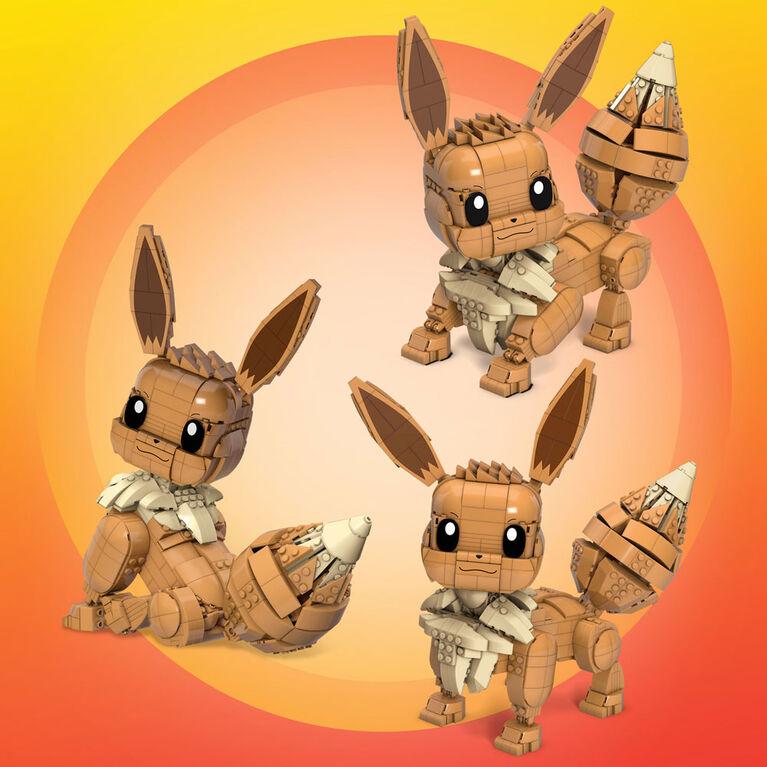 Mega Construx - Pokémon - Eevee Evoli Geant