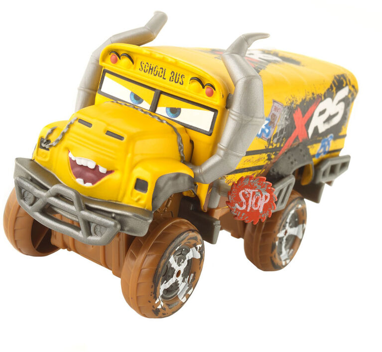 Disney/Pixar Cars XRS Mud Racing Oversized Miss Fritter Vehicle - English Edition