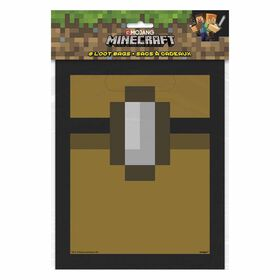 Minecraft Loot Bags 8 pieces