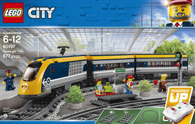 LEGO City Trains Le train de passagers télécommandé 60197