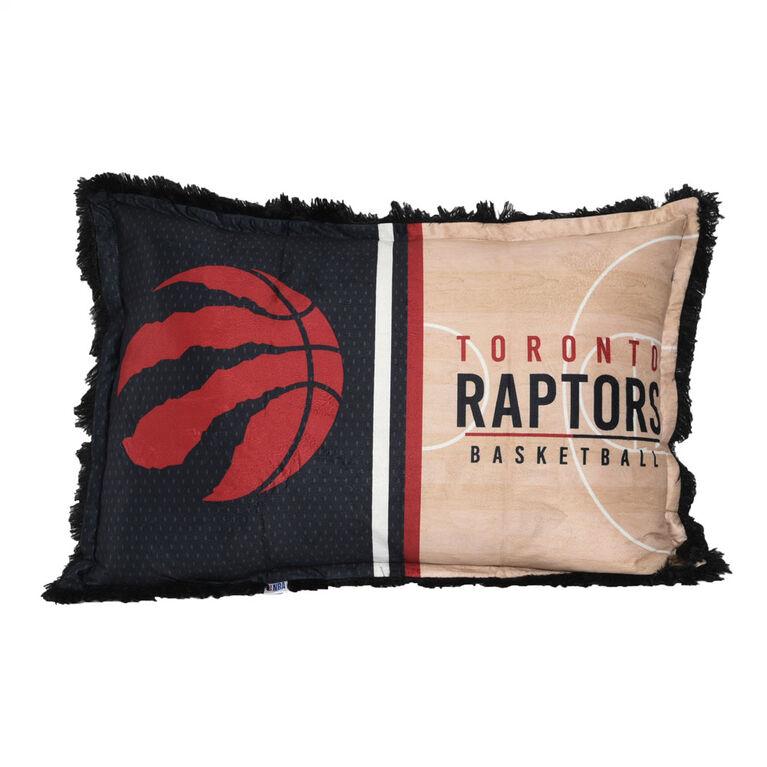 NBA Toronto Raptors Jumbo Funky Fur Pillow