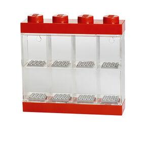 LEGO Minifigure Display 8 Red