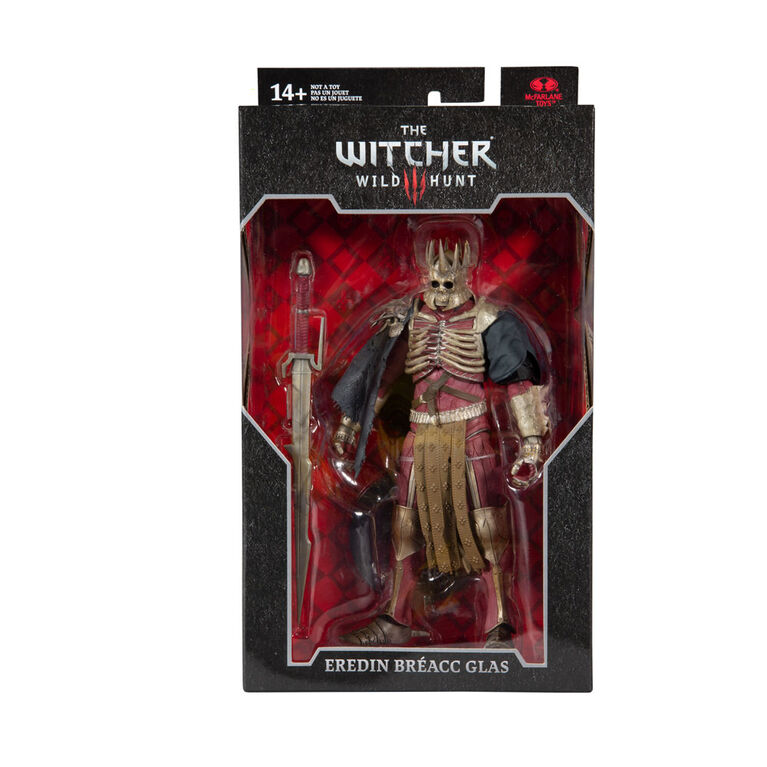 "The Witcher -  Eredin Bréacc Glas 7"" Action Figure"