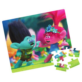 Trolls World Tour Puzzle in Collectible Tin with Handle