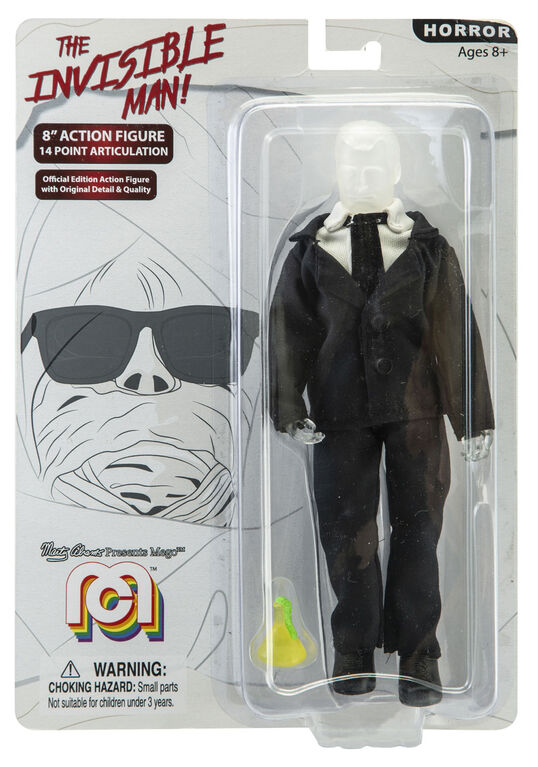 "The Invisible Man 8"" figure"