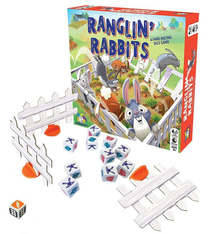 Gamewright - Ranglin' Rabbits Game
