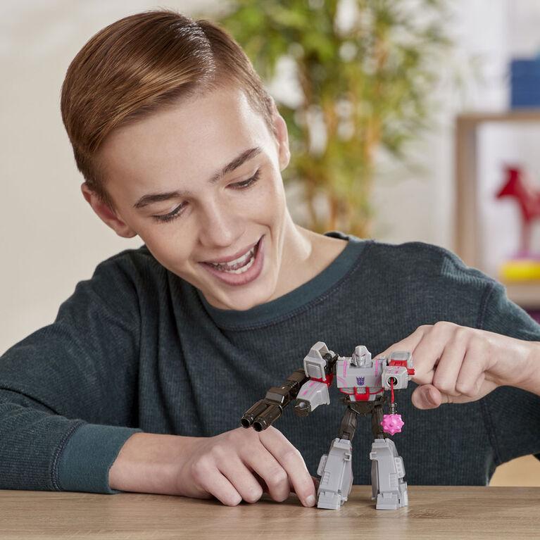 Transformers Bumblebee Cyberverse Adventures, figurine Action Attackers Megatron de 13,7 cm