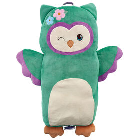 Soft Landing Luxe Loungers Owl Character Cushion - English Edition