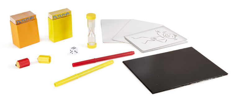 Pictionary Board Game - English Edition - styles may vary