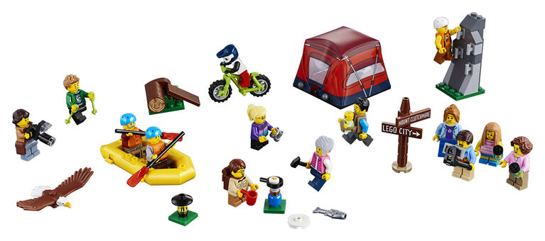 LEGO City Town Ensemble de figurines - Les aventures en 60202