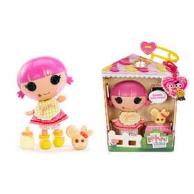 """Lalaloopsy Littles Doll - Sprinkle Spice Cookie with Pet Cookie Mouse, 7"""" baker doll"""