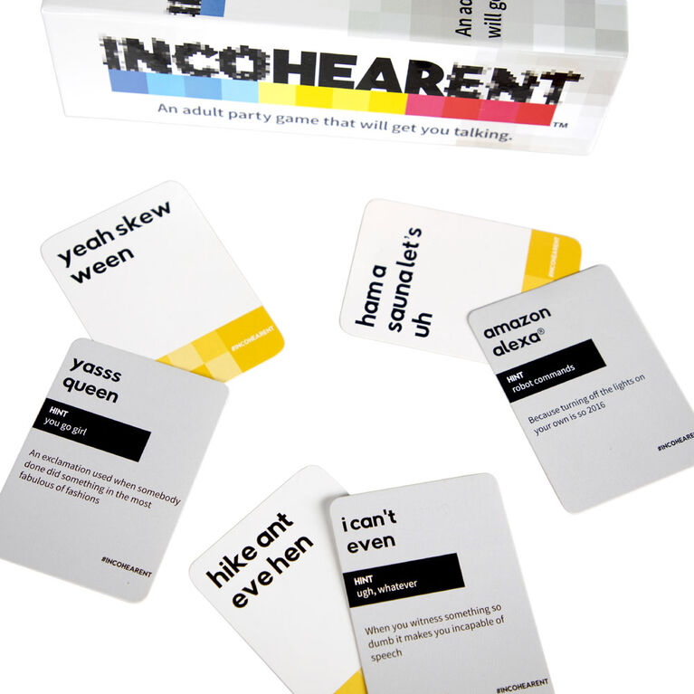 Incohearent Adult Party Game by What Do You Meme? - English Edition