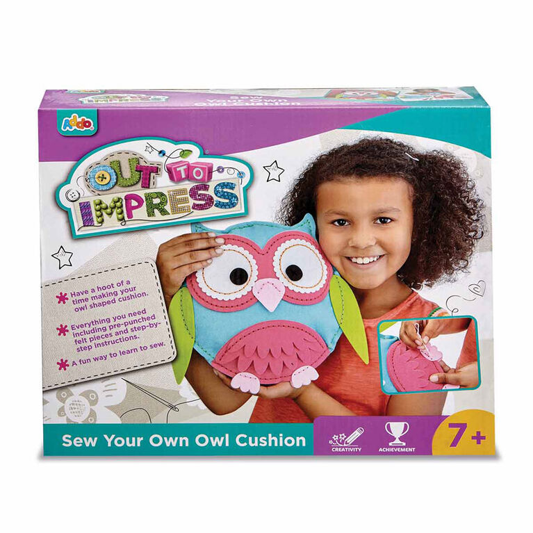 Out To Impress Make Your Own Owl Cushion - R Exclusive