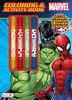 Marvel Color With Stamper Marker - English Edition