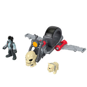 Fisher-Price Imaginext DC Super Friends Lobo Figure & Motorcycle