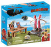Playmobil - How To Train Your Dragon - Gobber the Belch with Sheep Sling