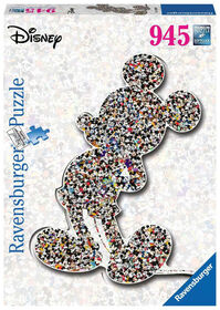 Ravensburger - Disney - Shaped Mickey Puzzle 945pc
