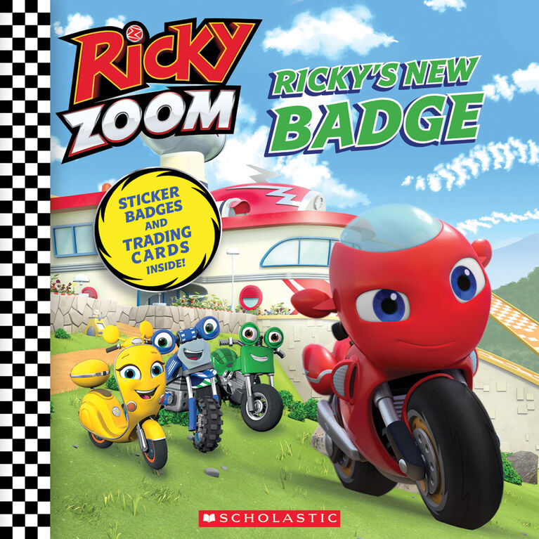 Scholastic - Ricky Zoom - Ricky's New Badge - English Edition